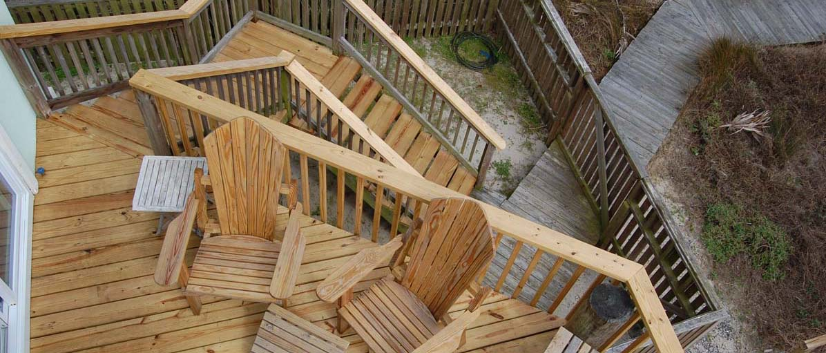 1651 East Ashley Avenue, Folly Beach deck