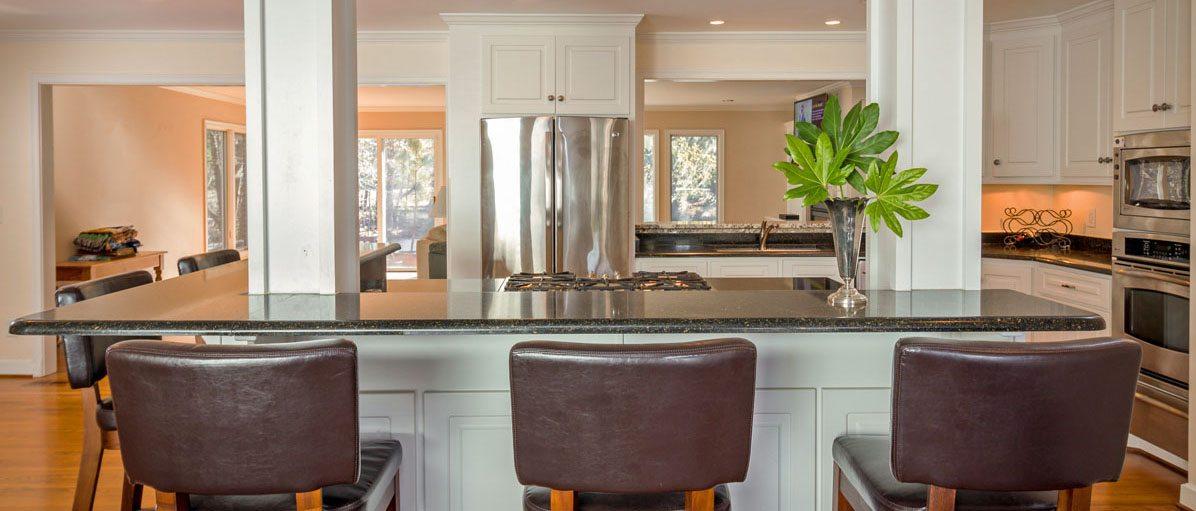 1459 Cecilia Drive kitchen island