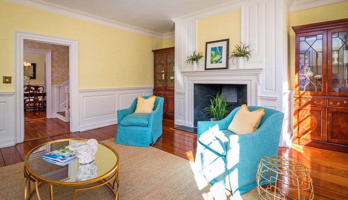 45 Church Street living room
