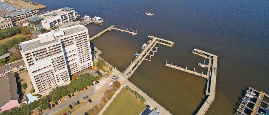 Dockside aerial