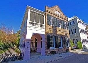 Charleston Single House at 62 Tradd St.