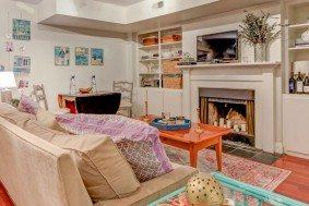 25A Montagu Street living room