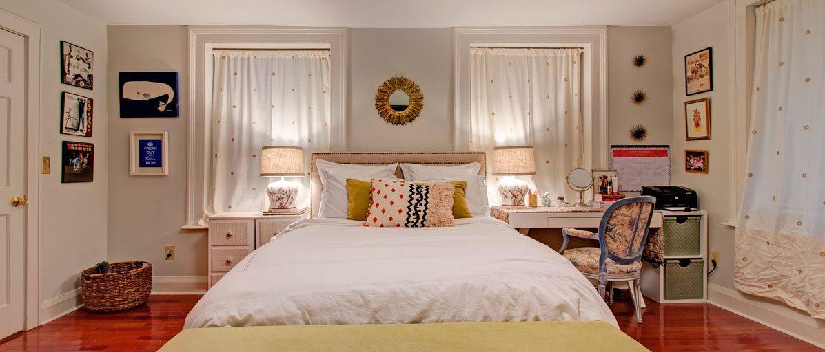 25A Montagu Street master bedroom