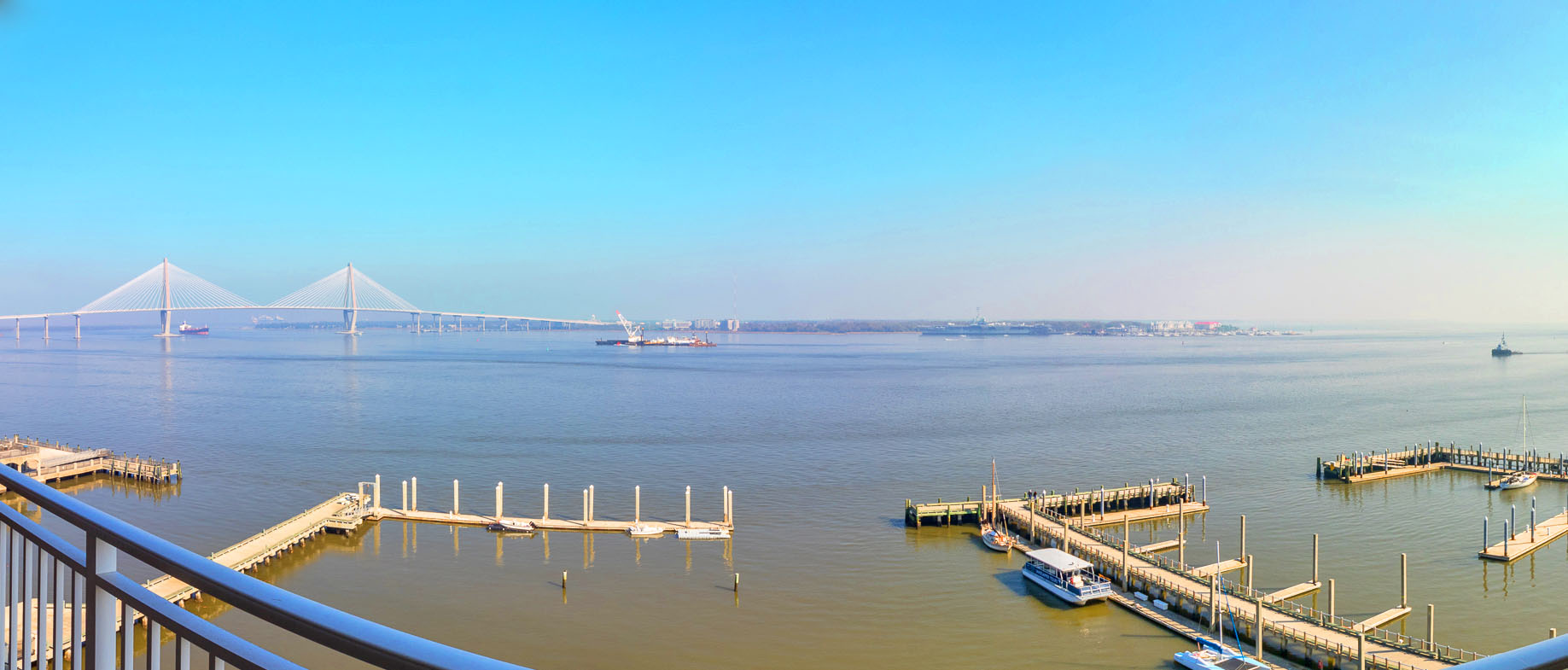 330 Concord Street FG, Dockside panoramic balcony view