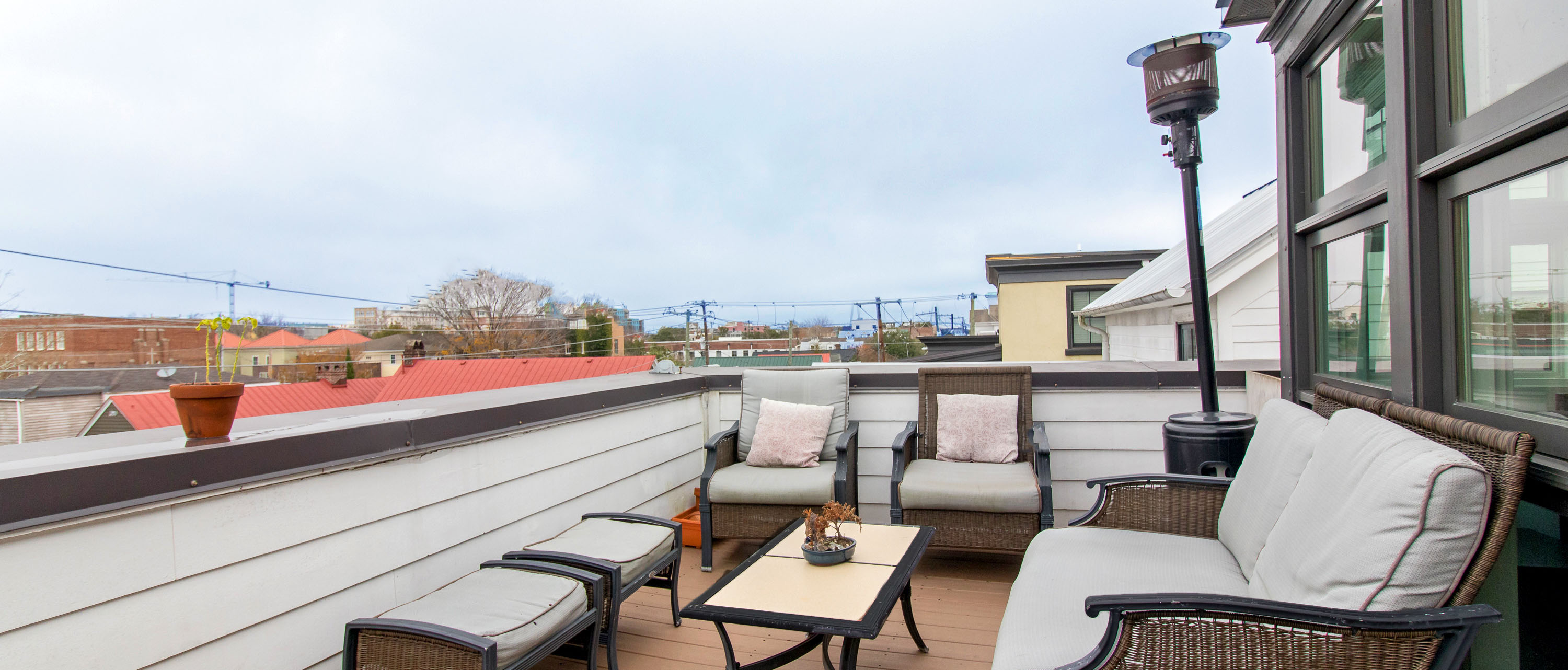 49A Morris Street, Radcliffeborough rooftop deck