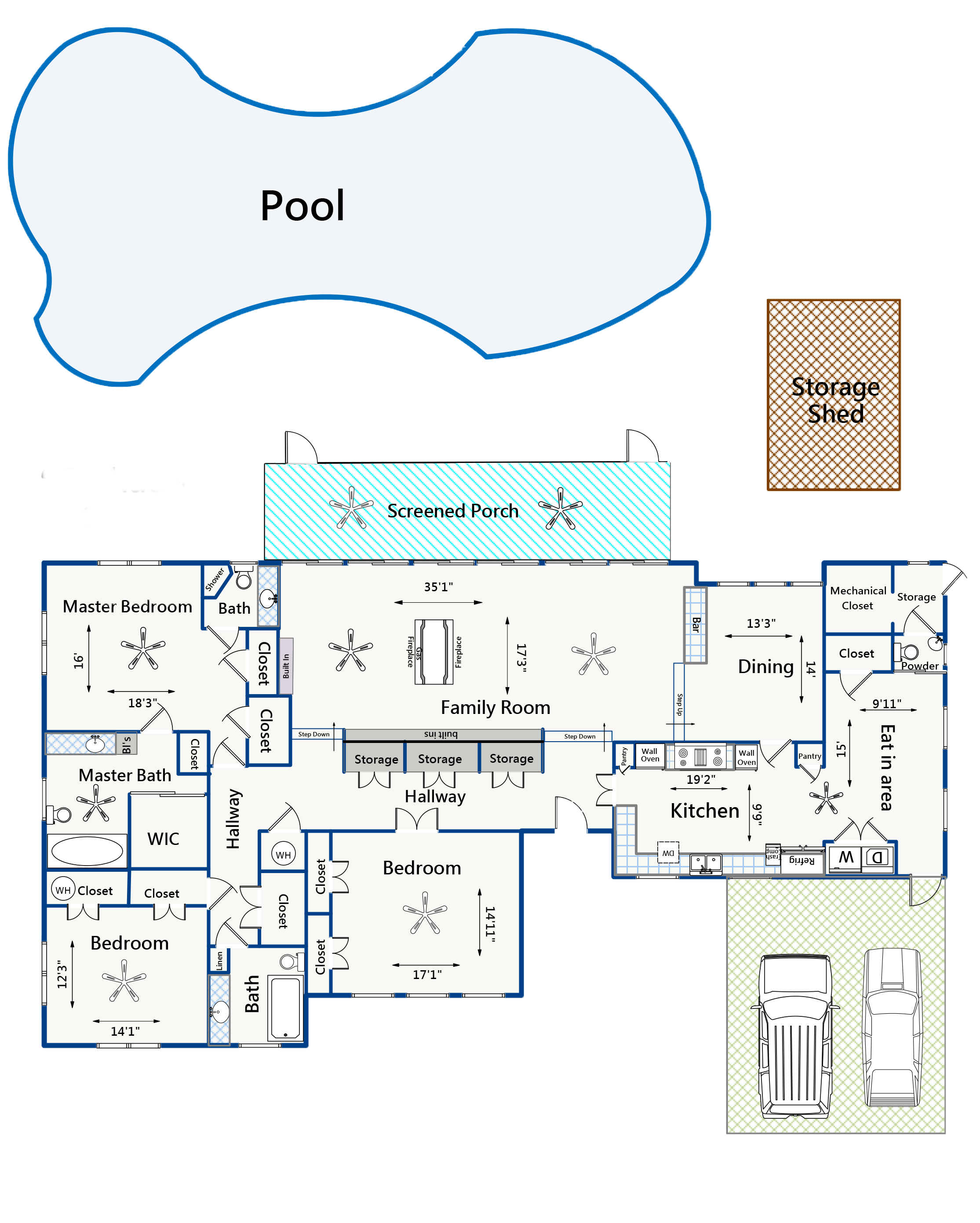 92 Chadwick floor plan