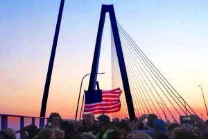 Unity Walk on Ravenel Bridge