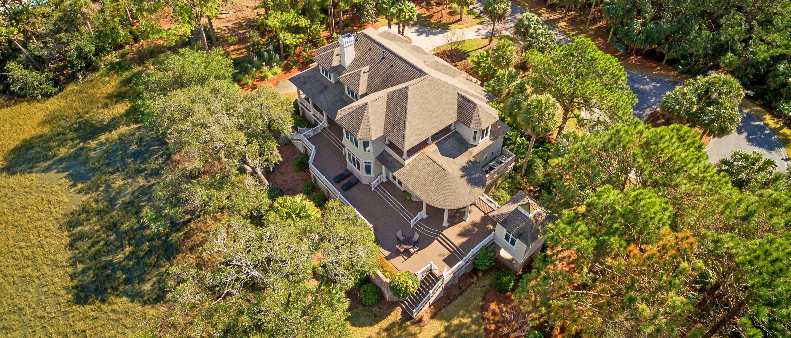 1405 Nancy Island Drive, Seabrook Island aerial