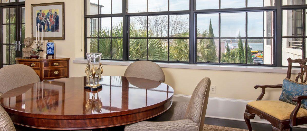 3 Chisolm Street, Condominium 304 dining room