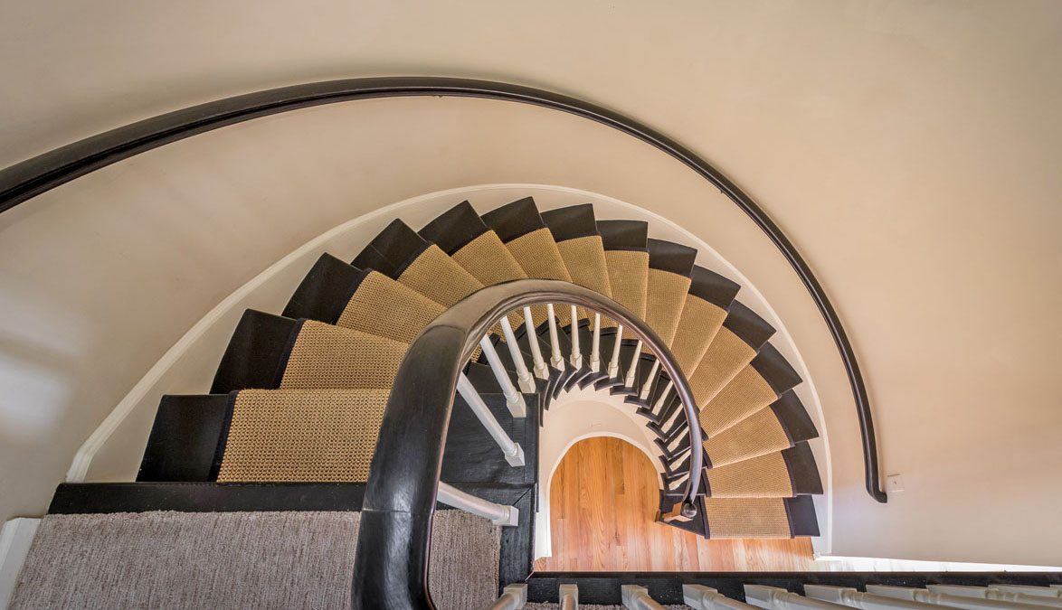 330 Concord Street, Dockside Townhouse 4 spiral staircase