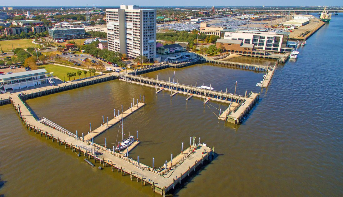 330 Concord Street, Dockside aerial