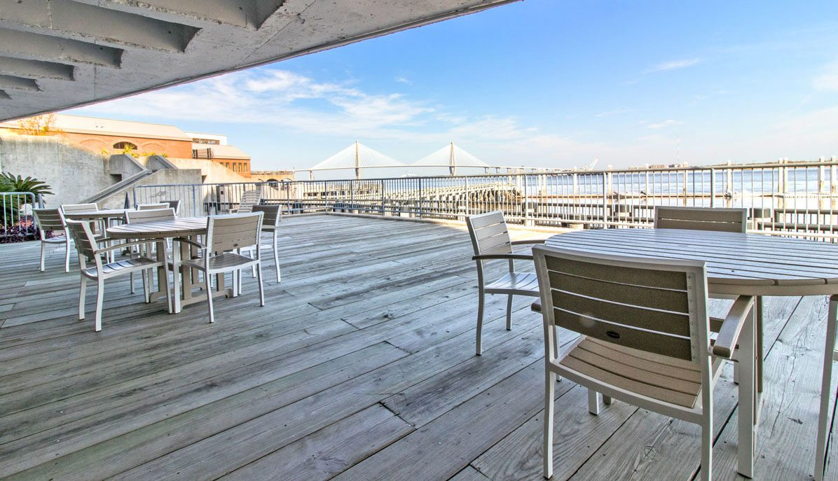 330 Concord Street, Dockside deck