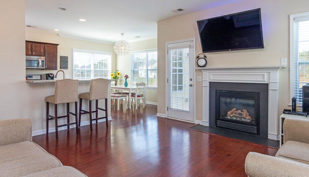 8015 Regency Elm Drive living room