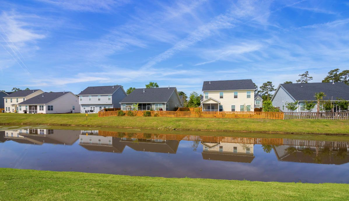 8015 Regency Elm Drive pond view
