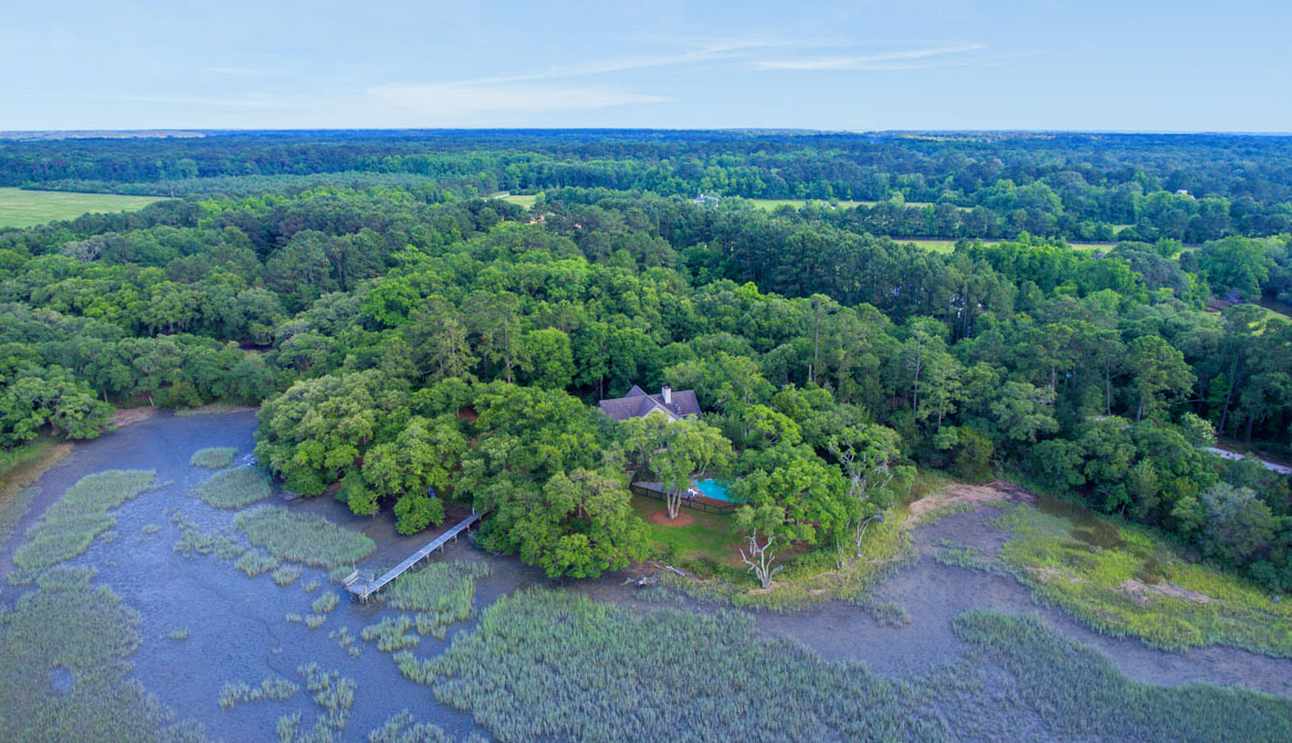 1310 Martins Point Road aerial