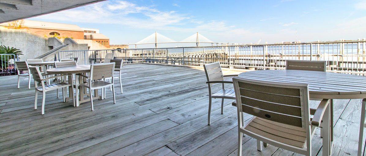 Dockside deck