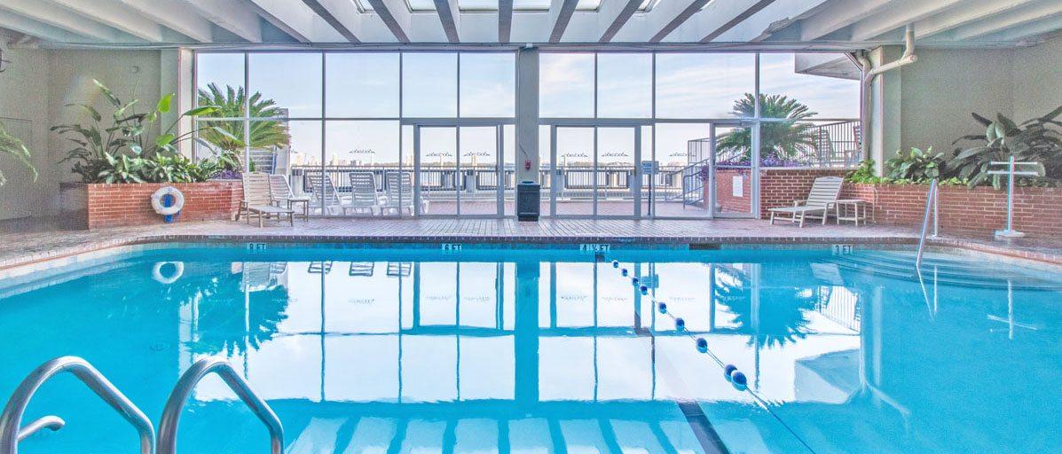 Dockside pool