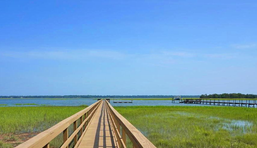 Kiawah River Estates dock and marsh