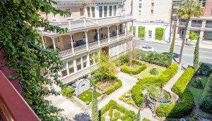 309 Meeting Street garden view