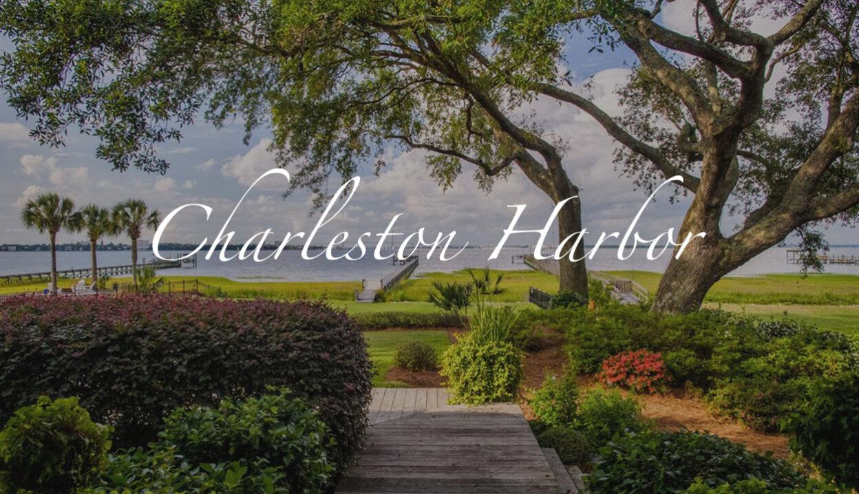 Charleston Harbor view from James Island