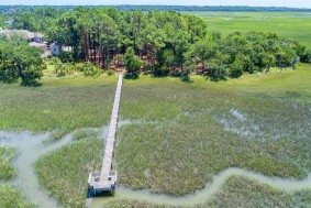 Nancy Island Drive lot 44, Seabrook Island aerial