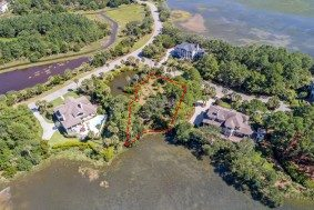 Nancy Island Drive lot 46, Seabrook Island aerial