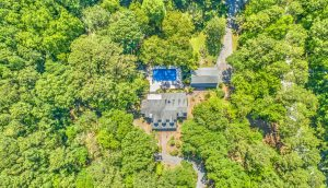 2258 Shad Drive aerial