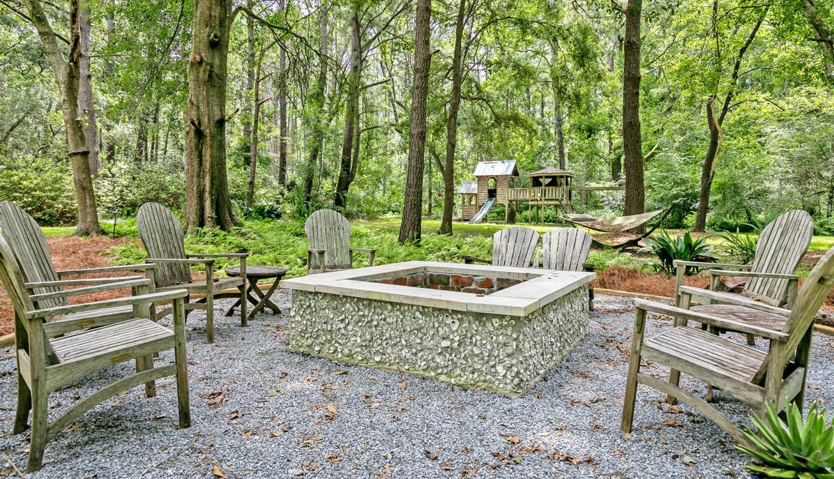 2258 Shad Drive, Johns Island fire pit and yard