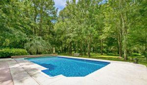 2258 Shad Drive pool & yard