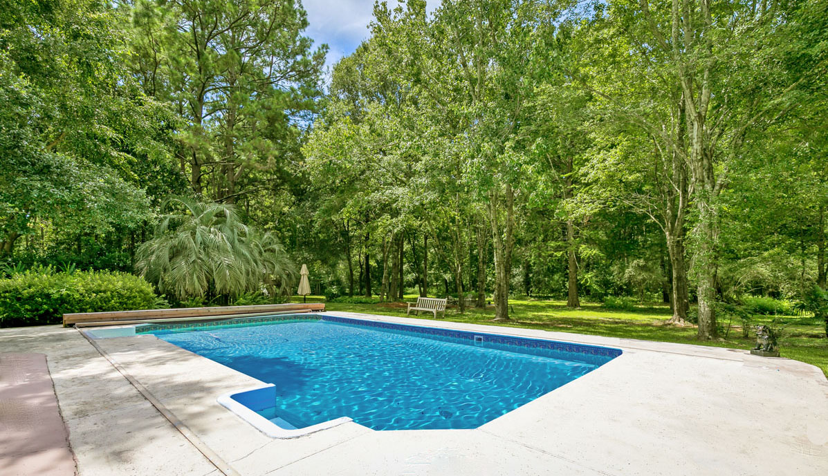 2258 Shad Drive pool & yard