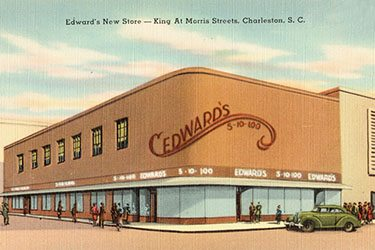Edwards Store, Upper King St, Charleston, SC, c. 1930–1945