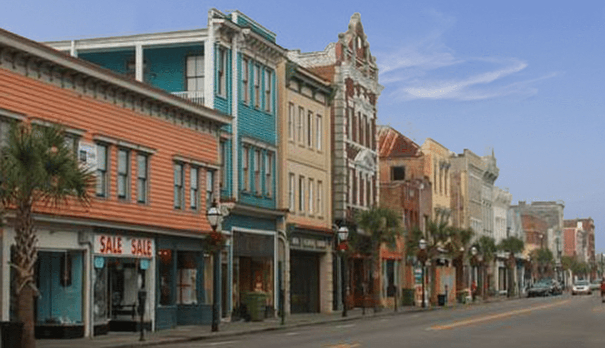 learn all about upper king street in downtown charleston sc