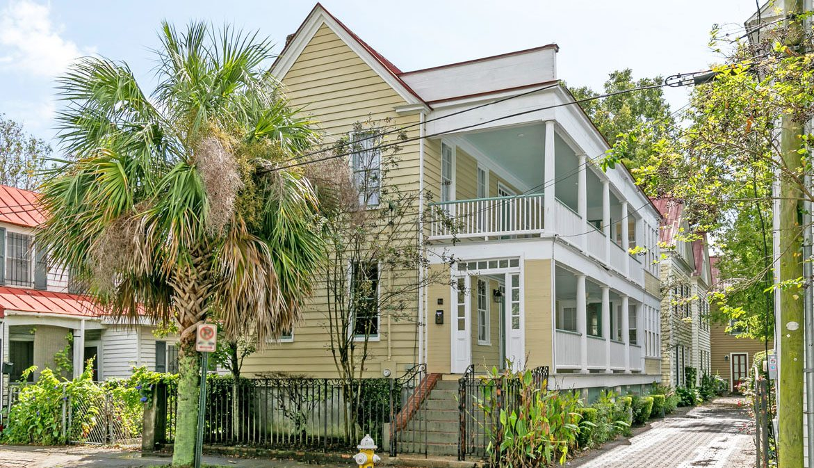 Home in Cannonborough-Elliotborough, historic downtown Charleston, SC