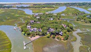 23 Cormorant Island Lane aerial island