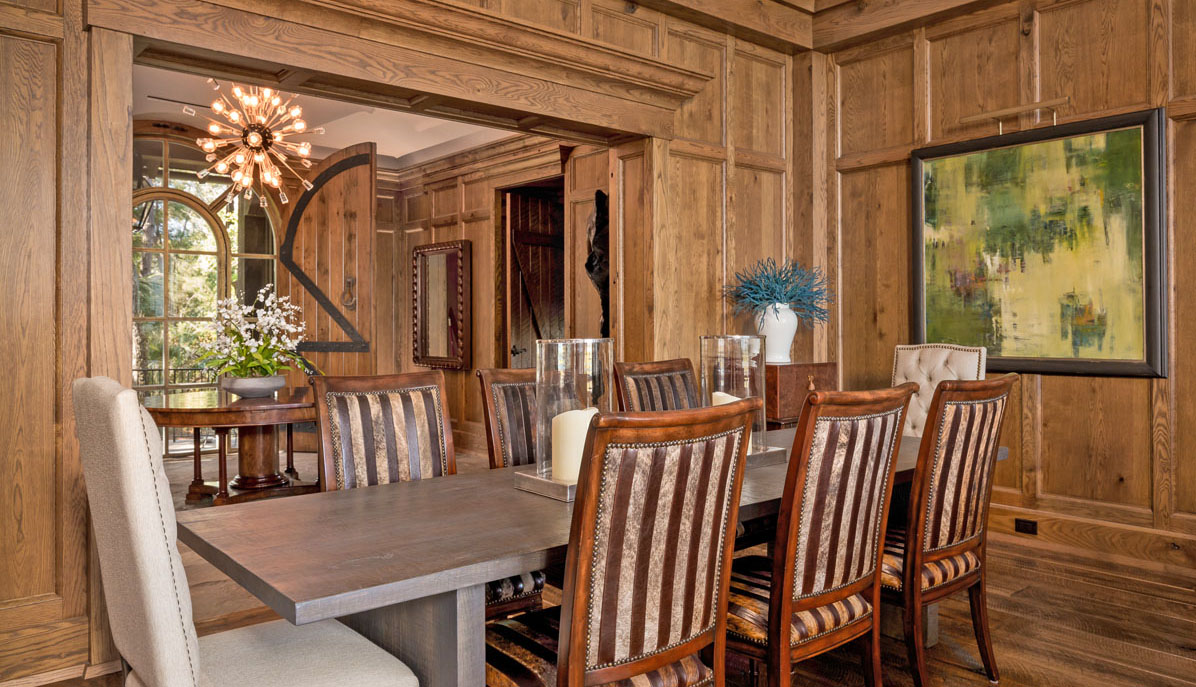 23 Cormorant Island Lane dining area