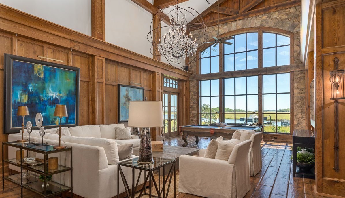 23 Cormorant Island Lane, Kiawah Island great room