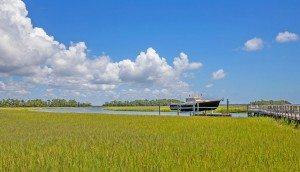 23 Cormorant Island Lane marsh & boat