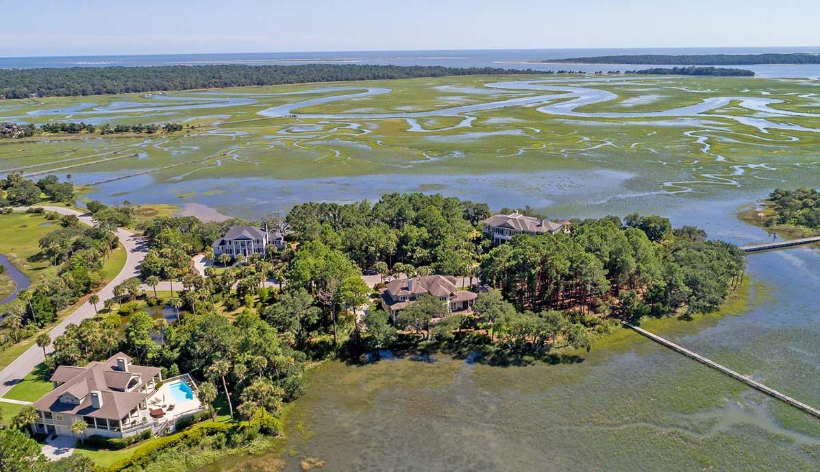 Seabrook Island aerial