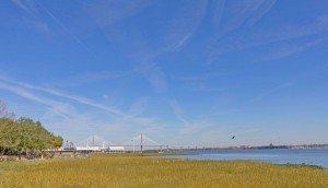6 South Adgers Wharf bridge view