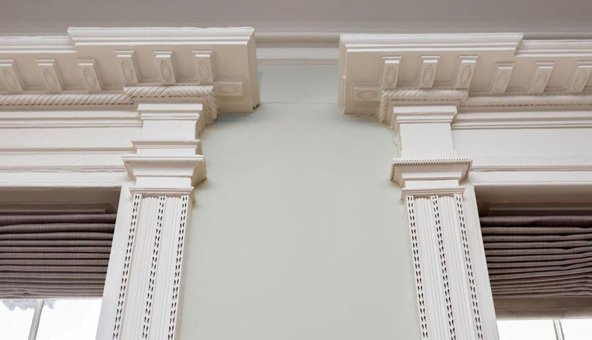 286 Meeting Street A architrave detail