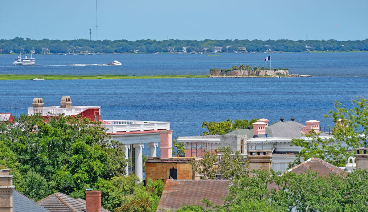 1 King Street 709 Fort Sumter view