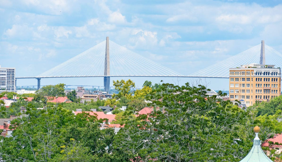 1 King Street 709 Ravenel bridge view