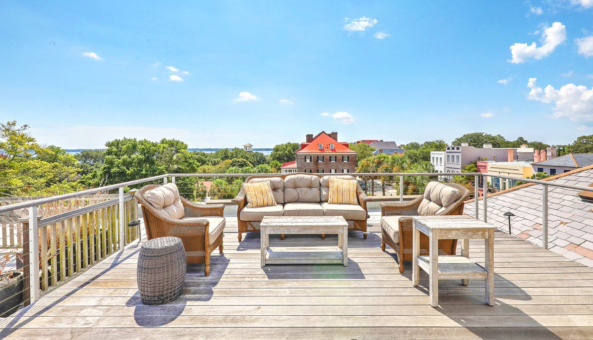 20 South Adgers Wharf rooftop deck