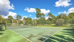 Waterway South tennis courts