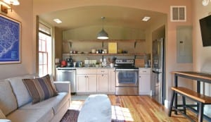 262 Coming Street carriage house kitchen