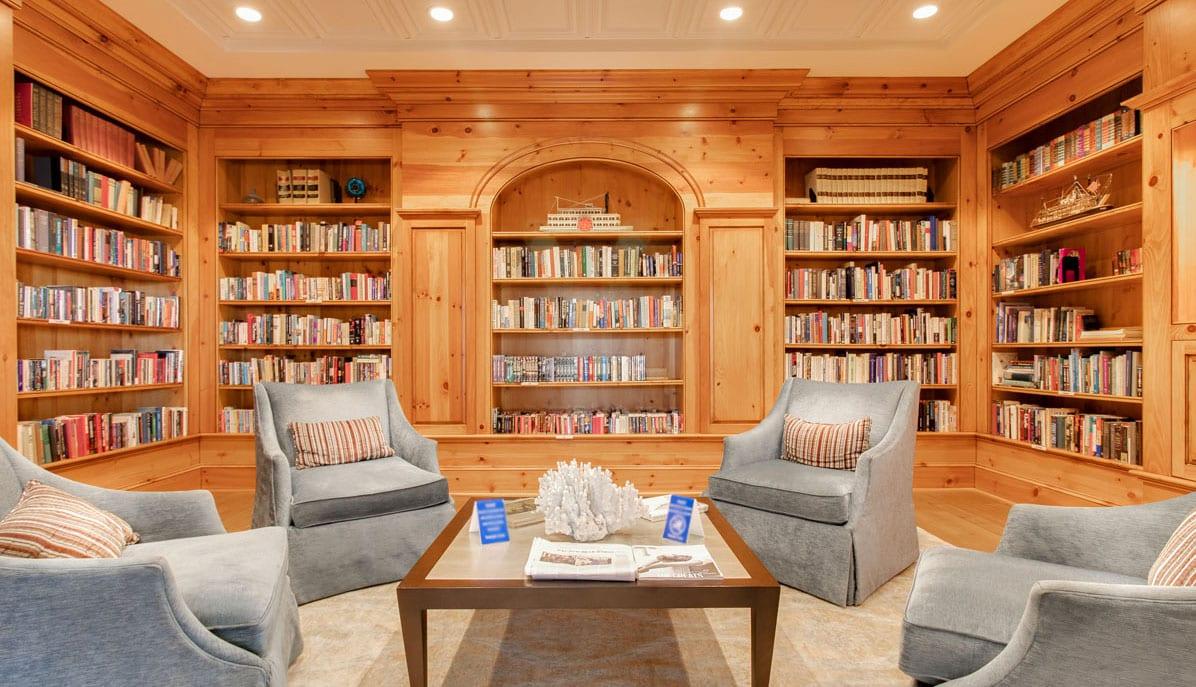 Dockside Condos library