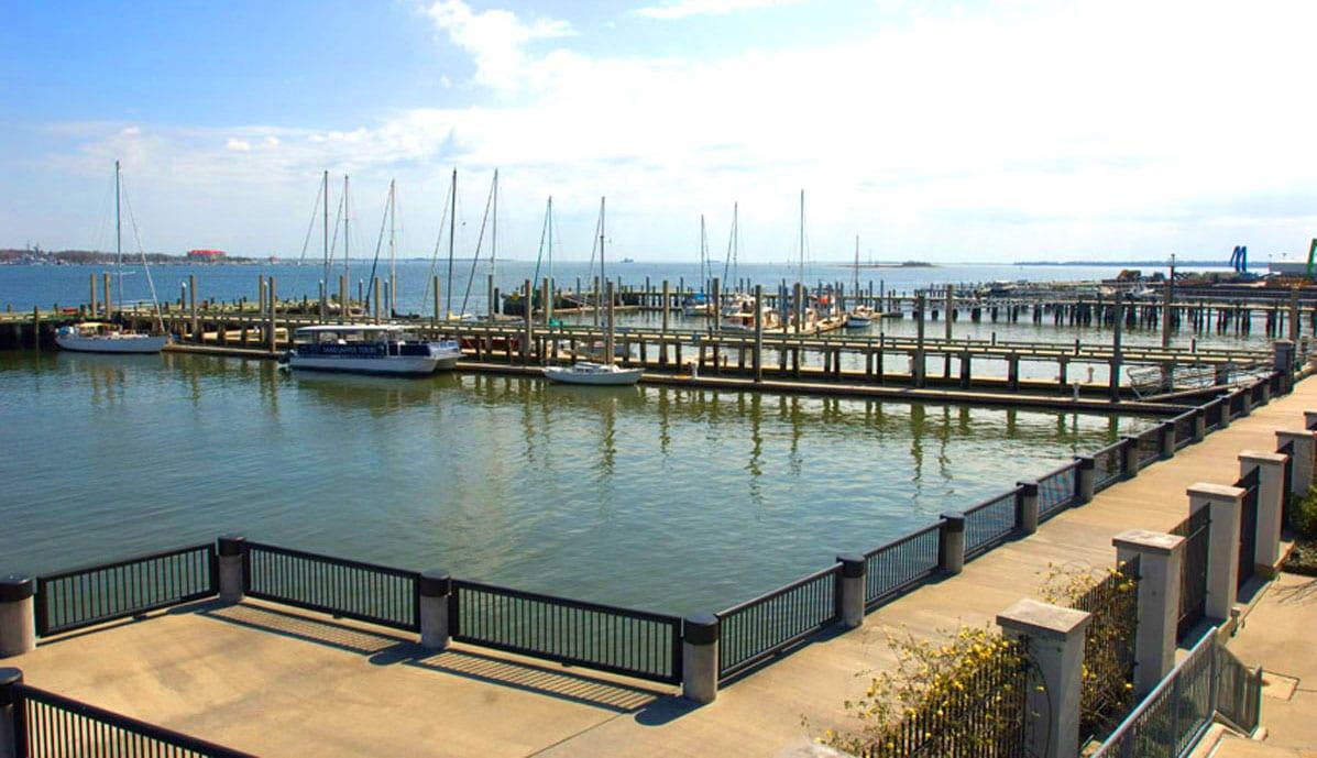 Dockside Condos marina