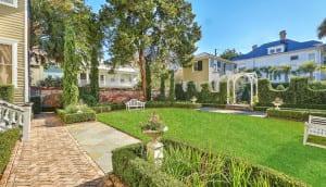 110 Ashley Avenue garden