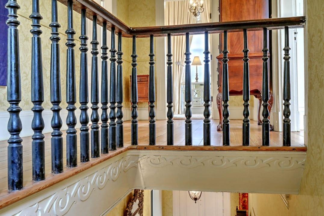 110 Ashley Avenue staircase moldings