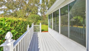 1222 Byron Road deck